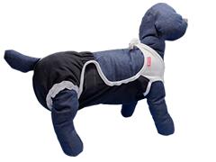 介護・排せつ・マナーの悩みにずれにくい犬用着せるおむつカバー